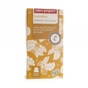 Eden Project Colombian Coffee Capsules 10s