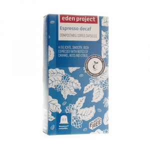 Eden Project Decaffeinated Coffee Capsules 10s