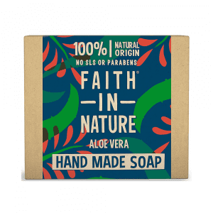 Faith in Nature Aloe Vera Soap (Aloe Vera) 100g