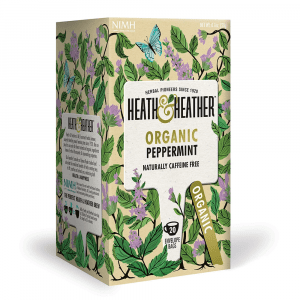 Heath & Heather Organic Peppermint Tea 20 Bags