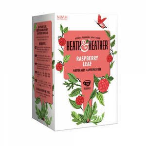Heath & Heather Raspberry Leaf Tea 50 bags