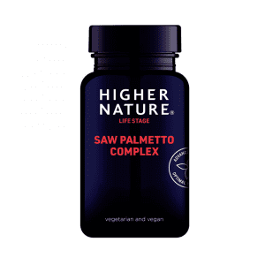 Higher Nature Saw Palmetto Complex 30 Capsules