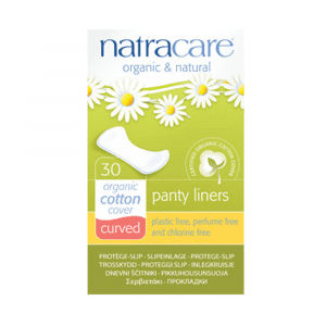 Natracare Pantyliners Curved 30s