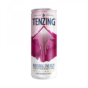 Tenzing Raspberry & Yuzu Natural Energy Drink 250ml