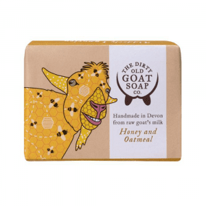 The Dirty Old Goat Soap Company Honey & Oatmeal
