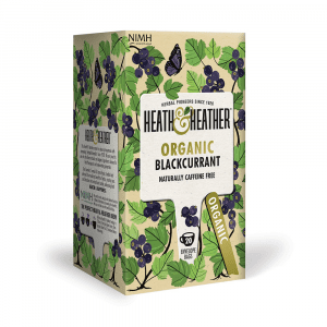 Heath & Heather Organic Wild Blackcurrant Tea Bags 20