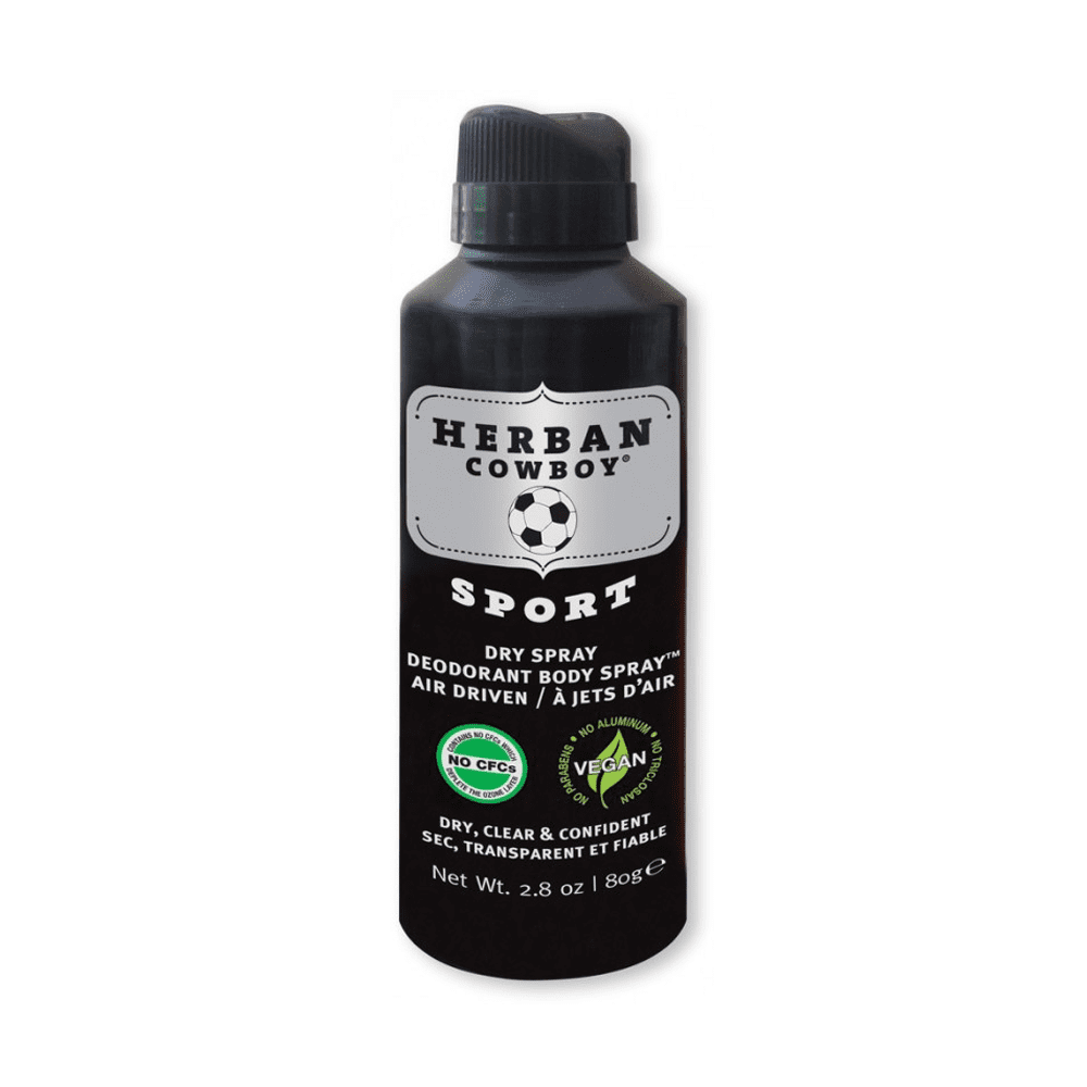 Herban Cowboy Sport Maximum Protection Dry Spray Deodorant Sport 80g