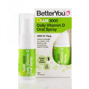 BetterYou DLux 3000 Daily Vitamin D Oral Spray 15ml