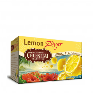 Celestial Seasonings Lemon Zinger Tea Bags 20