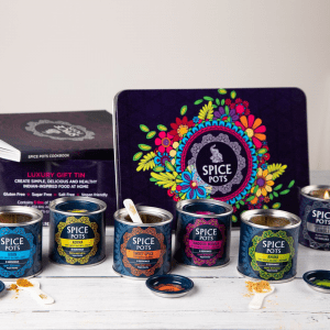 Spice Pots Luxury Indian Spice Tin Gift Set