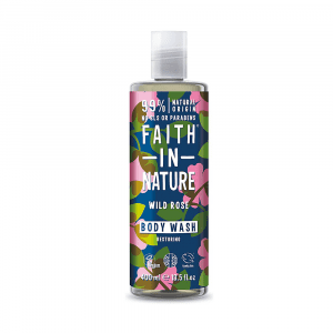 Faith in Nature Wild Rose Body Wash 400ml
