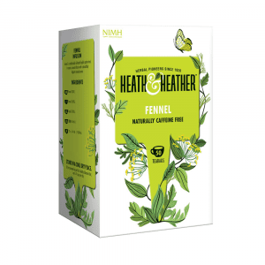 Heath & Heather Fennel Tea 50 Bags