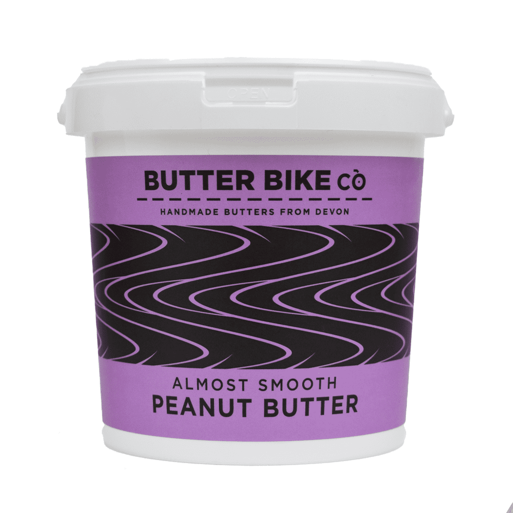 Butter Bike Co Almost Smooth Peanut Butter 1kg