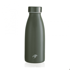 One Green Bottle 350ml Forest Green Thermal Insulated Cold 24hrs Bottle