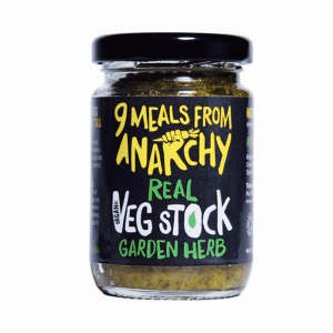 9 Meals From Anarchy Real Vegetable Stock Garden Herb 105g