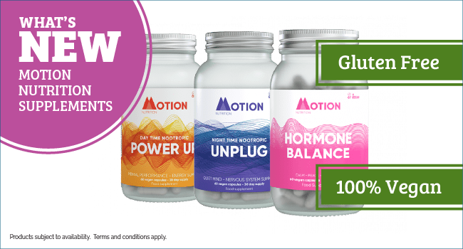 Motion Nutrition Natural Supplements